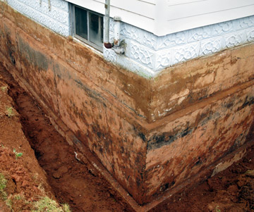 South Carolina Basement Waterproofing